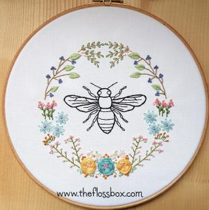 Bee Floral
