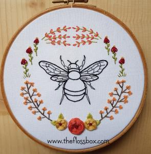 Small Bee Floral