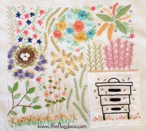 Floral Doodle Cloth 2