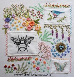 Floral Doodle Cloth 1
